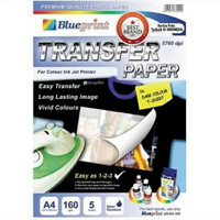 kertas transfer film A4 160gr DARK blueprint
