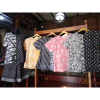 Setelan Celana Wanita Batik Cap Asli Solo Warna Terbaik Motif Bagus