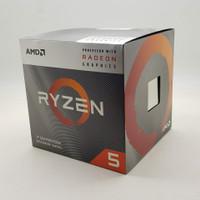 Processor AMD Ryzen 5 3400G 3.7 Ghz BOX + ASRock A320M HDV