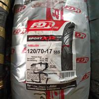 Ban Luar Motor 17 Ring Pelek 17 FDR Sport XR Evo 120/70-17 Tubeless