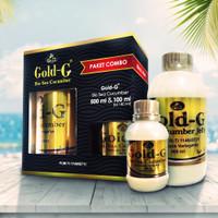 jelly gamat Gold G paket combo 500ml+140ml