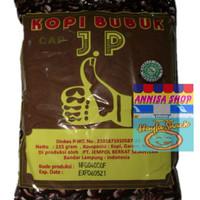KOPI BUBUK CAP JEMPOL JP ASLI LAMPUNG 225 GRAM