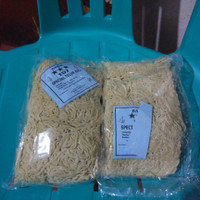 Bakmi 157 Special Telur Asli / Mie ayam mentah isi 6 kepal 500 gram