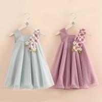 [MMP149] Dress Pesta Bunga Anak Perempuan