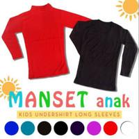 Baju manset anak umur 2 tahun - 4 tahun
