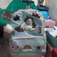 koper sequin unicorn /koper sekolah