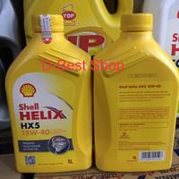 Oli Mesin Shell Helix HX5 15W-40 (1 Liter)