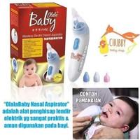 olala baby wireless electric nasal aspirator / sedot ingus elektrik