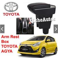ArmRest Toyota Agya Ayla Console Box Arm Rest Sandaran Tangan