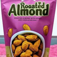 Kacang Almond Panggang/Roasted Almond with Honey and Himalayan Salt