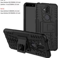 Asus zenfone 5 lite / 5Q ZC600KL case rugged armor standing black