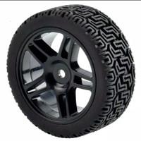 1pcs velg + ban onroad rally RC 1/10 ZD wltoys 144001 HSP remo vortex