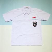 Kemeja Putih Baju Seragam Sekolah SD Merah Putih Bendera Murah - 11