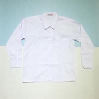 Kemeja Putih Polos Lengan Panjang Baju Seragam Sekolah SD