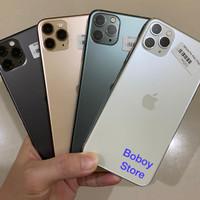 Iphone 11 Pro Max 256gb Bekas Fullset