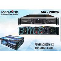 POWER AMPLIFIER MEGAVOX MA2002N/MA 2002N 2 X 2000 WATT