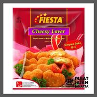 Fiesta Chicken Nugget Cheesy Lover 500 Gr Naget Ayam Keju Daging Asap