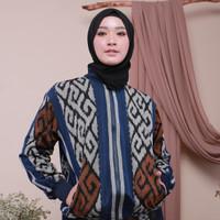 Manaka Jaket Tenun Ikat Etnik - Dakara Indonesia DI002