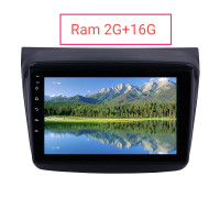 Head unit Android 9 Pajero Sport L200+ Frame Fit+ Kabel PnP WiFi GPS