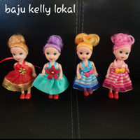 Baju Boneka Barbie Kelly Baju