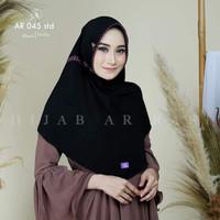 Jilbab Instan Bergo Serut Polos Hijab Arrafi AR 045 STD