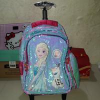 koper sequin frozen/tas frozen/tas sekolah anak cewe sd