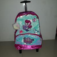 koper sequin mermaid/tas mermaid sequin/tas anak cewe sd