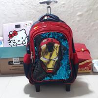 koper sequin ironman polo/tas sequin ironman/tas anak cowo sd