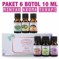 Aroma Therapy 6in1 Essential Oil Pengharum Ruangan Humidifier Diffuser