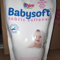YURI BABYSOFT FABRIC SOFTENER UKURAN 410 ML