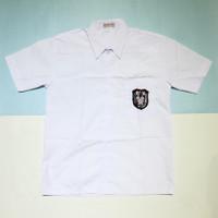 Seragam Sekolah SD Kemeja Baju Putih Pendek - 11