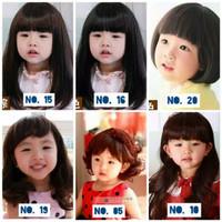 Rambut Palsu Anak Perempuan / Wig Anak / Aksesoris Rambut Bayi Anak Pe