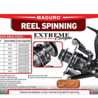 reel pancing maguro extreme compe 5000