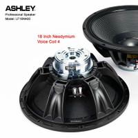 Speaker 18 Inch Ashley Neodymium Voice Coil 4 inch 2000 watt Original