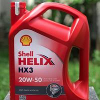 Oli Shell Helix HX3 SAE 20W-50 4Liter