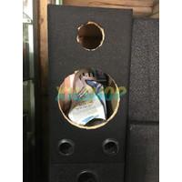 Box Kotak Speaker 6 Inchi 2 Way Ada Lubang Tweeter