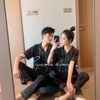 Piyama Pria dan Wanita/Baju Tidur Couple Premium Import