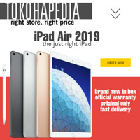 IPAD AIR 3 10.5 2019 256GB / 256 WIFI ONLY GOLD SPACE GREY SILVER