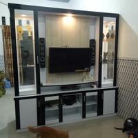 bupet tv / penyekat ruangan HPL 2 muka