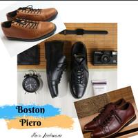 Sepatu kulit pria MODEL PIERO (pantopel/boots/kickers/bally/DELTA