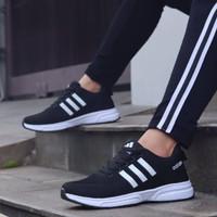 Sepatu Speakers Adidas Climacool Black White Women Premium Quality