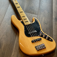 Squier Vintage Modified 70s Jazz Bass V in Natural