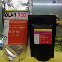 polar red artemia tanpa cangkang repack 100gr