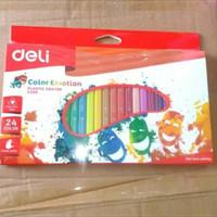 pensil crayon emotion 24 warna c200 DELI