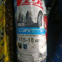 Ban Luar Motor Ring Pelek 18 FDR 275-18 City Power Non Tubeless