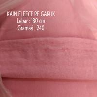 Kain kiloan bahan sweater Fleece PE tebal : 230