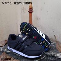 Sepatu Anak Adidas Black / Sepatu Anak Sekolah Adidas / Sepatu Sekolah