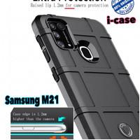 Shield Case Samsung M21 - casing cover armor Galaxy M 21 Samsung