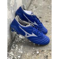 Sepatu bola mizuno original Morelia Neo 3 Elite FG blue white new 2020