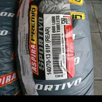 Paket Ban Aspira Premio 120-70-13 / 140-70-13 Termurah